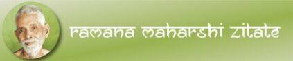 Ramana Maharshi Zitate Header